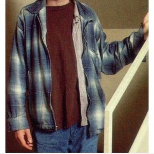 Kurt Cobain Nirvana Plaid Sweater Long Sleeve Top